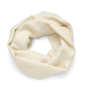 Cuyana Scarf Cream White 100% Baby Alpaca Infinity
